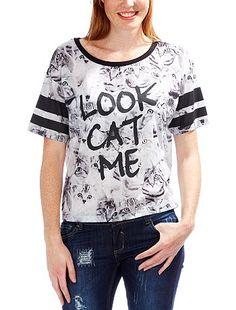 Camiseta con estampado de gatos  - Kiabi
