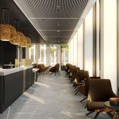 Purpur Interior Concepts| Interior Concept für St Martin Tower, Frankfurt | http://wohnenmitklassikern.com/