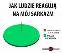 Mój sarkazm Very Funny Memes, True Memes, Wtf Funny, Funny Texts, Dead Memes, Sarcastic Humor, Sad Quotes, Wise Words, Funny Animals