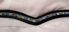 Abalone Dressage English Bridle Browband Brow Band | she has really nice browbands on ebay