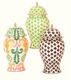Ginger Jars.. can you ever have enough?
