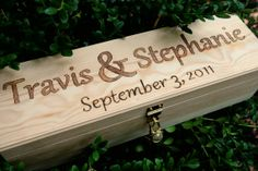 Custom Rush Reserve Listing For Calvin, Wedding Wine Box, Love Letter Ceremony…