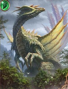 Gazing Forest Dragon (Towering)