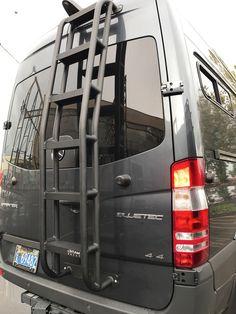 Aluminum Hd Cargo Van Ladder For Mercedes Sprinter Low