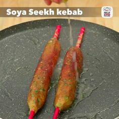 "Jolly Food Fellow's Instagram profile post: ""Let's try the soft but crispy Soya Seekh Kebab❤️😋 ————— #soya #seekh #kebab #soyakebab #seekhkebab #soyaseekhkebab #masaledar #chatpata…"""