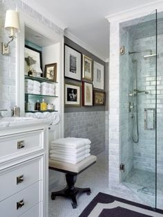 Traditional Bathroom by David Jimenez in Kansas City, Missouri