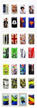 Multiple Styles Cartoon Stylish Pattern Hard Back Case Cover Skin For iPhone 3 3G 3GS Free Shipping +Drop Shipping