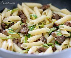 Penne com Carne e Abobrinha ~ PANELATERAPIA - Blog de Culinária, Gastronomia e Receitas