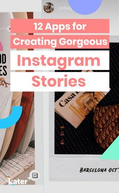 New apps for Instagram Stories are popping up every day, which means stories are getting more and more creative, interactive, and engaging!   It's now easier than ever to create high-quality Instagram Stories content – you just need to step outside the Instagram app for some extra help!   Here's 12 apps for Instagram Stories that will help you create high-quality, cohesive stories that will keep your audience coming back for more! 💫