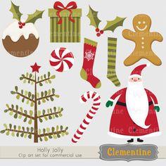 Christmas clip art images, Christmas clipart, Santa clip art,  Royalty free clip art- BUY 2 GET 1 FREE