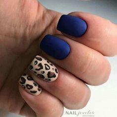 Nails gel, we adopt or not? - My Nails Hot Nails, Hair And Nails, Leopard Nails, Leopard Nail Designs, Dipped Nails, Perfect Nails, Manicure And Pedicure, Natural Nails, Beauty Nails