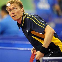 Table Tennis - Persson Jorgen, Sweden Beijing 2008
