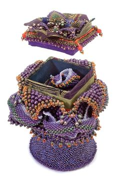 Seed Beaded Presentation Box - Fire Mountain Gems and Beads