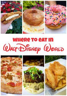 Walt Disney World - Where To Eat & Mickey's Very Merry Christmas Party