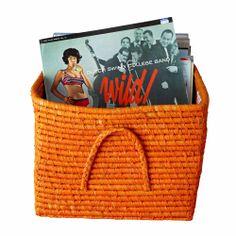 bastkörbe von rice. eine zauberhafte aufbewahrungsmöglichkeit im kinderzimmer. Tote Bag, Band, Basket, Tote Bags, Bands