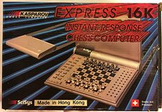 Kasparov Express 16K Instant Response Chess Computer 1985 SciSys ** You can get additional details at the image link.