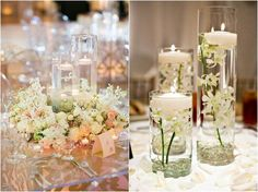 20 Impossibly Romantic Floating Wedding Centerpieces | Deer Pearl Flowers