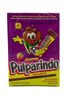 Buy Pulparindo Chamoy by De La Rosa at MexGrocer.com Tamarind Candy, Mexican Candy, Free Candy, Tamarindo, Mexican Food Recipes, Fruit, Mexican Recipes