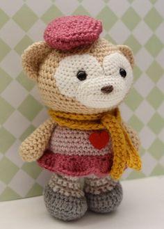 Amigurumi Crochet Pattern - Satori the Monkey. $5,00, via Etsy.