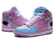 High Tops Nike Dunk Minne Mouse Disney Shoes