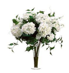 White bouquet #SilkFlowers ARWF3513