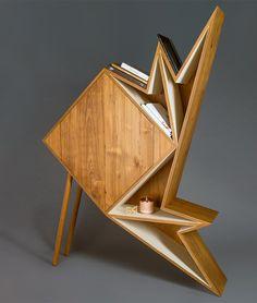 Origami Inspiration Furniture * By Aljoud Lootah | Design Gallerist | Rare & Unique Products