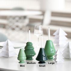 Kähler Design Avvento  Deze leuke (kerstboom) kaarsjes houders voor 14,95