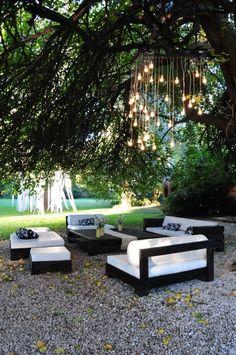 58 patio garden & tips for growing 7 Fiesta Decorations, Outdoor Wedding Decorations, Outdoor Decor, Outside Furniture, Outdoor Furniture Sets, Wedding Ceiling, Open Space Living, Lounge Decor, Outside Wedding