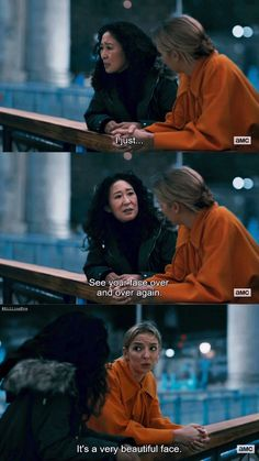 Psycho Girlfriend, You Broke Me, Sandra Oh, Jodie Comer, Film Quotes, Music Tv, Screenwriting, You Funny, American Horror Story