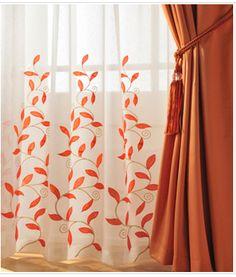 Wondrous Ideas: Elegant Curtains Restoration Hardware nursery curtains and blinds.Rustic Curtains Entrance velvet curtains with trim. Orange Kitchen Curtains, Orange Curtains, Floral Curtains, Sheer Curtains, Chevron Curtains, Brown Curtains, Luxury Curtains, Elegant Curtains, Double Curtains