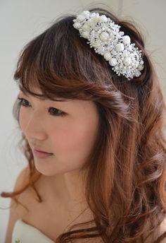 ヘッドドレス(髪飾り)【ボンネ】アレット