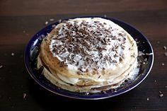 Заварной крем пошаговый фото-рецепт + видео Tiramisu, Pancakes, Deserts, Cooking, Breakfast, Ethnic Recipes, Food, Kitchen, Morning Coffee