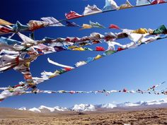Tibet: a uniquely spiritual place high in the mountains, full of monasteries and high altitude treks