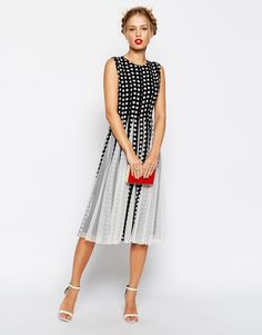 Pin for Later: The Best Holiday Party Dresses Under $150  Asos Fit and Flare Midi Dress ($108)