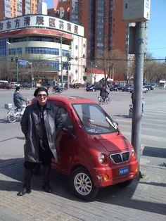Loving this Micro Car in Beijing on Man of Tai Chi