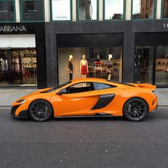 The new #675LT graces Sloane