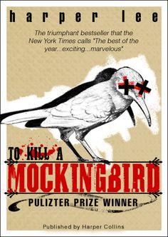 An update to the cover of a true piece of literature. To Kill a Mockingbird Cover Atticus Finch, Good Books, Books To Read, Race In America, Harper Lee, Bird Book, To Kill A Mockingbird, Design Competitions, Book Cover Design