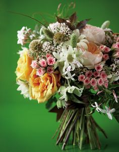 Statement-Making Wedding Bouquets - These daring bouquets deliver a significant style statement - Wedding Flowers