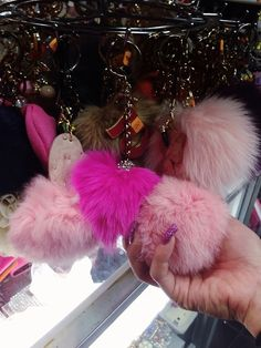 pink fluffy and cute