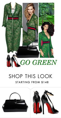 """GO GREEN"" by jojona-1 ❤ liked on Polyvore featuring Prada and Posh Girl"