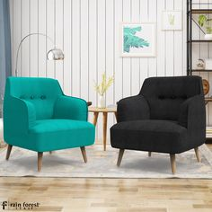 Following a prolonged day at work, return home to take it easy with this keenly created accent chair by Rainforest Italy.   #accentchair #chair #furniture #woodenchair #woodenfurniture #woodenaccentchair #interiordesign