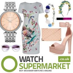 Pastel perfect for Ladies' Day at the Aintree Races! - Michael Kors Watch and Fossil Charm Bracelet both available from Watch Supermarket! Aintree Races, Fancy Hats, Watches Online, Ladies Day, Fossil, Pastel, Racing, Michael Kors, Bracelet