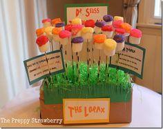 Dr. Seuss Truffula Treats {The Preppy Strawberry}