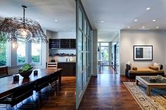 Allison's Kitchen - The old switcheroo - contemporary - dining room - chicago - Nicholas Design Collaborative