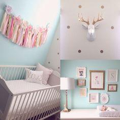 babykamer meisje pastel - Google zoeken