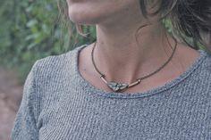 Mira este artículo en mi tienda de Etsy: https://www.etsy.com/listing/249152813/necklace-made-with-a-twiggy-and-little