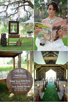 Plantation wedding details