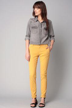moduxe article sp cial lookbook pantalon couleur moutarde mode femme pour tre tendance. Black Bedroom Furniture Sets. Home Design Ideas