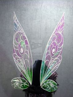 Tinkerbell wings iridescent Fairy wings by FairyberryBlossoms.deviantart.com on @deviantART
