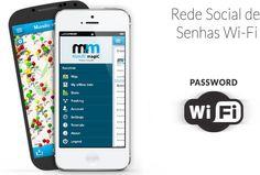 Compartilhar senhas de redes wifi públicas